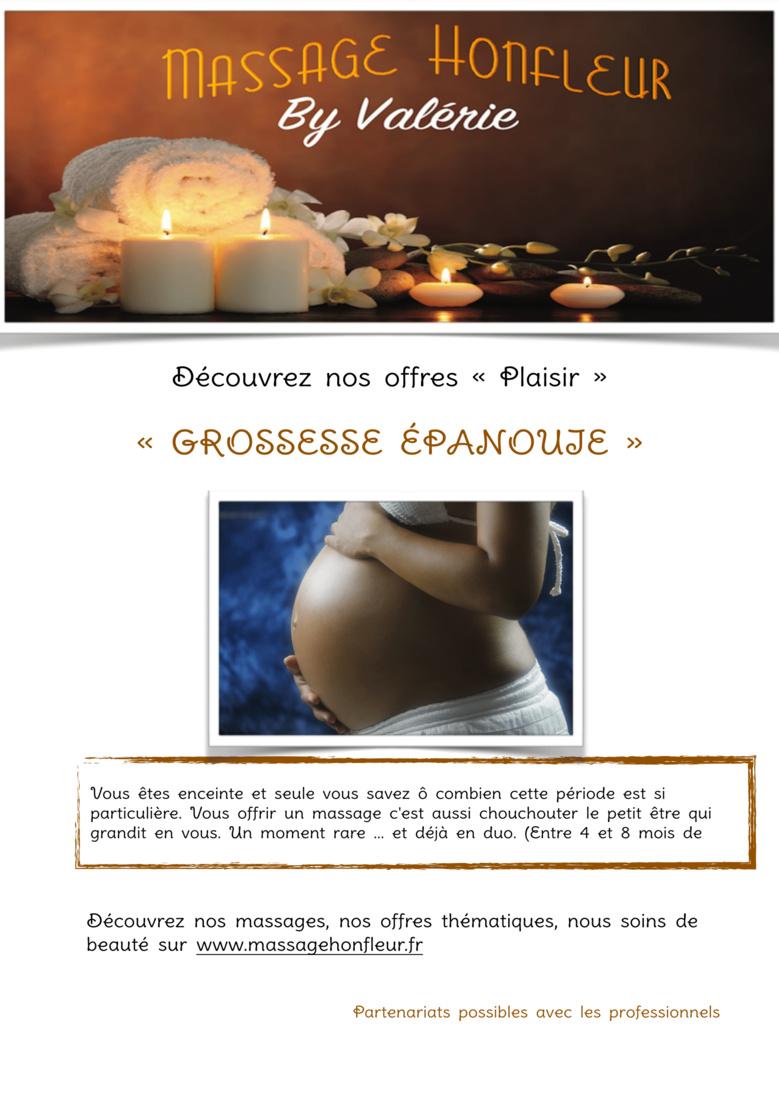 MASSAGE HONFLEUR : «GROSSESSE ÉPANOUIE»